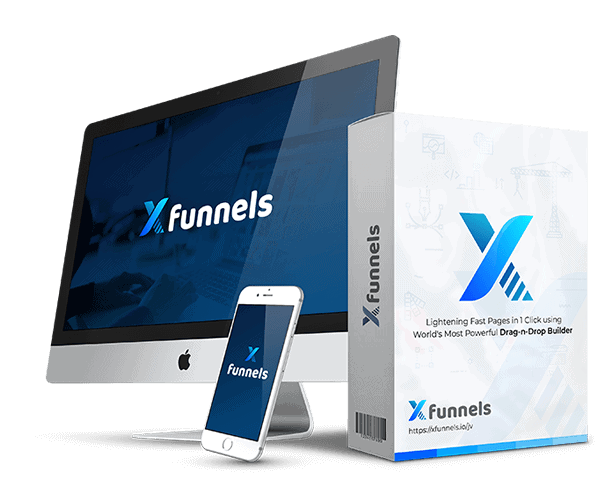 Xfunnels Agency Plan Commercial w/Voice Robot Lifetime Deal - Funnel Builder